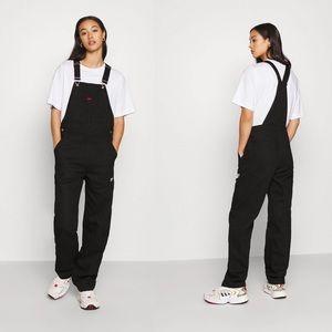🆕 Adidas Dungarees Black Denim Jean Overalls